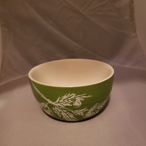 Threshold Joy Green & White Stoneware Dip Bowl